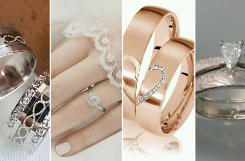 50 Simple Wedding Rings Design Ideas