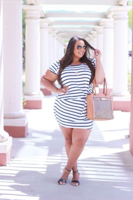 50 Summer Outfits for Plus Size Ideas 35