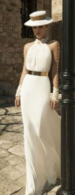 50 Ways to Wear Gold Belts Ideas 28