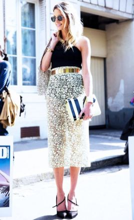 50 Ways to Wear Gold Belts Ideas 33