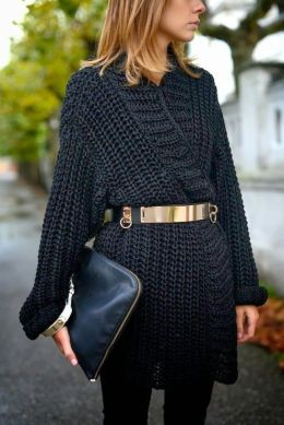 50 Ways to Wear Gold Belts Ideas 37