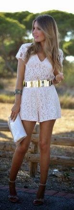 50 Ways to Wear Gold Belts Ideas 44