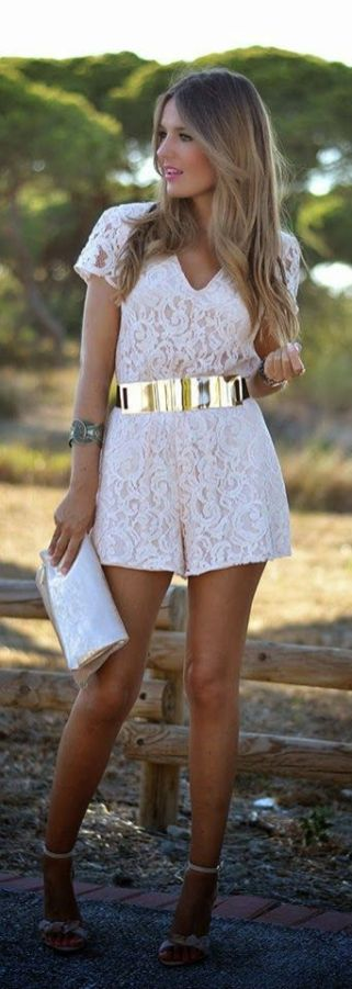 50 Ways to Wear Gold Belts Ideas 44