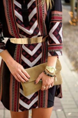 50 Ways to Wear Gold Belts Ideas 9