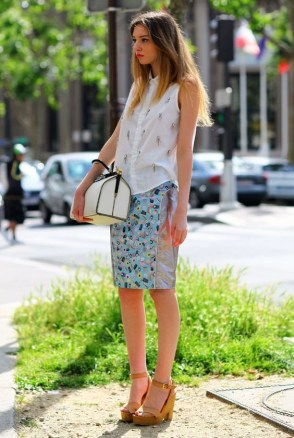 50 Ways to Wear White Sleeveless Top Ideas 32