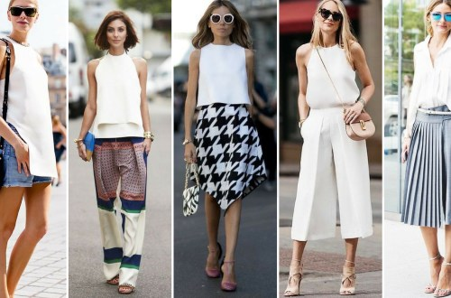 50 Ways to Wear White Sleeveless Top Ideas
