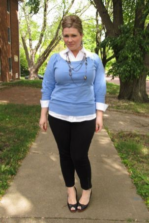 50 Womens Work Outfits for Plus Size Ideas 21