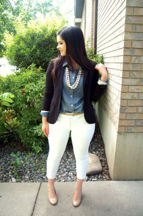 50 Womens Work Outfits for Plus Size Ideas 46