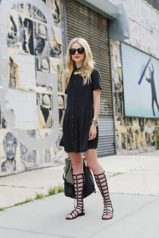 60 Spring and Summer All Black Outfits Ideas 1