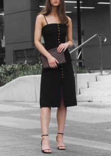 60 Spring and Summer All Black Outfits Ideas 14