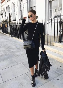 60 Spring and Summer All Black Outfits Ideas 22