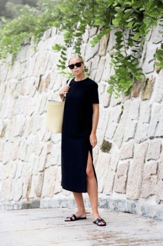60 Spring and Summer All Black Outfits Ideas 23