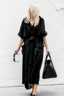 60 Spring and Summer All Black Outfits Ideas 33