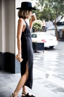 60 Spring and Summer All Black Outfits Ideas 42