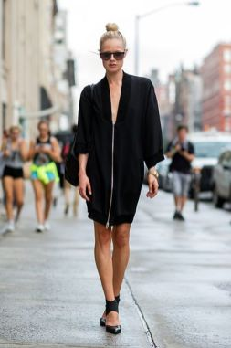 60 Spring and Summer All Black Outfits Ideas 45