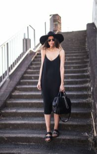 60 Spring and Summer All Black Outfits Ideas 50