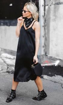 60 Spring and Summer All Black Outfits Ideas 56