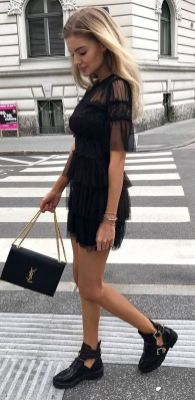 60 Spring and Summer All Black Outfits Ideas 60