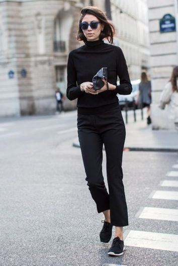 60 Spring and Summer All Black Outfits Ideas 62