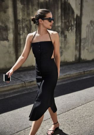 60 Spring and Summer All Black Outfits Ideas 64