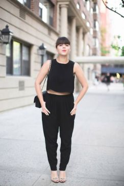 60 Spring and Summer All Black Outfits Ideas 7