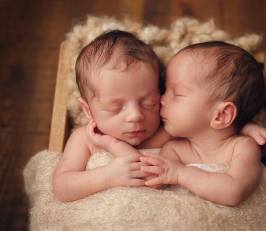 100 Cute Twins New Born Photography You Can Copy 3