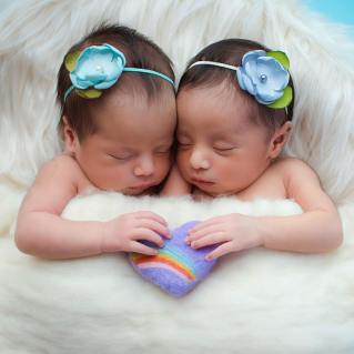 100 Cute Twins New Born Photography You Can Copy 52