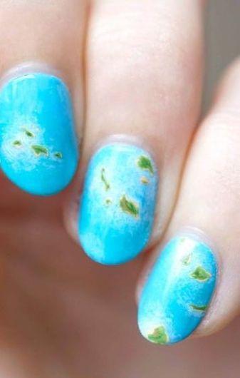 30 Earth Day Nails Art Ideas 10