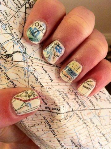 30 Earth Day Nails Art Ideas 17