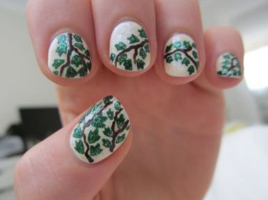 30 Earth Day Nails Art Ideas 23 2