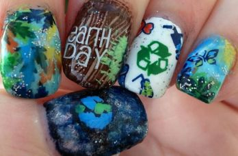 30 Earth Day Nails Art Ideas 24 2