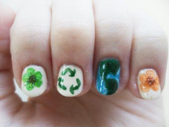 30 Earth Day Nails Art Ideas 25 1