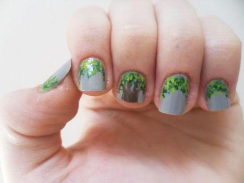 30 Earth Day Nails Art Ideas 26