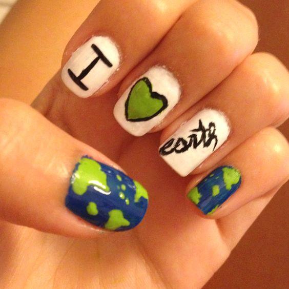 30 Earth Day Nails Art Ideas 28 1