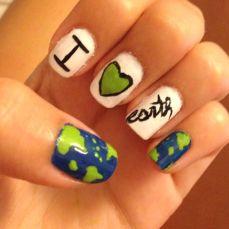 30 Earth Day Nails Art Ideas 28