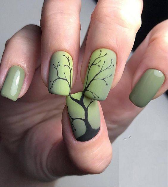 30 Earth Day Nails Art Ideas 29