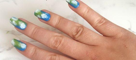 30 Earth Day Nails Art Ideas 3 1