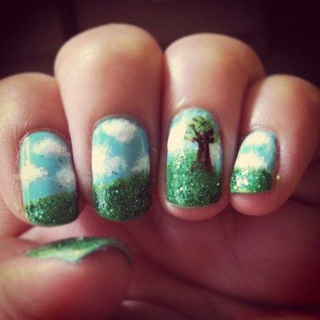 30 Earth Day Nails Art Ideas 31 1