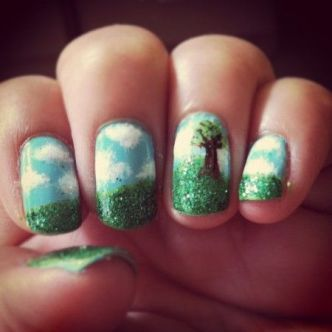 30 Earth Day Nails Art Ideas 31 2