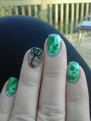 30 Earth Day Nails Art Ideas 33