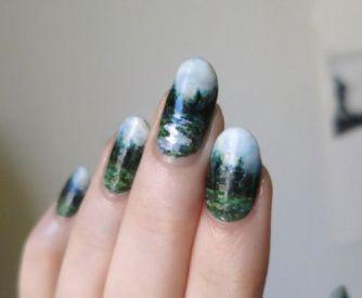 30 Earth Day Nails Art Ideas 34