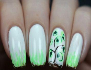 30 Earth Day Nails Art Ideas 35