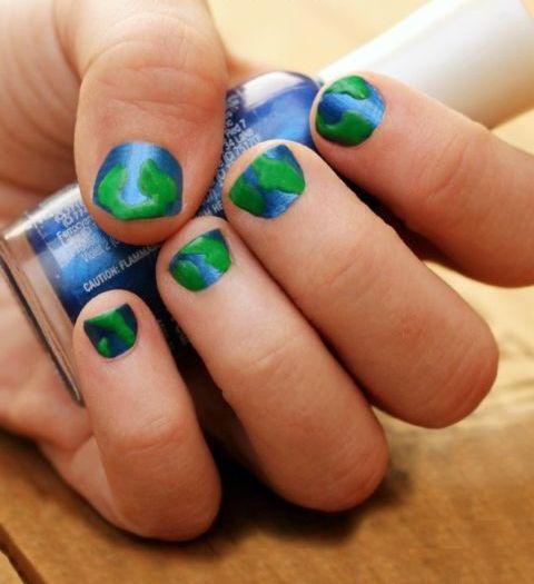 30 Earth Day Nails Art Ideas 5 1