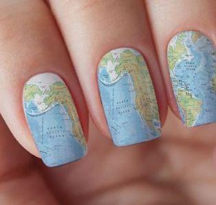 30 Earth Day Nails Art Ideas 7 1