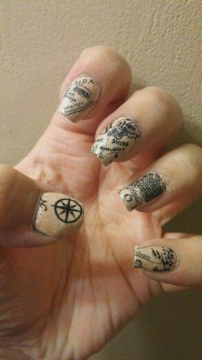 30 Earth Day Nails Art Ideas 8