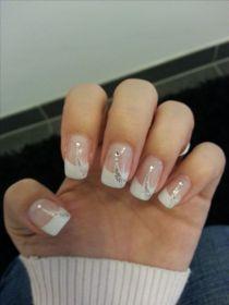 30 Glam Wedding Nail Art for Bride Ideas 15
