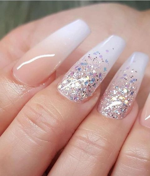 30 Glam Wedding Nail Art for Bride Ideas 28