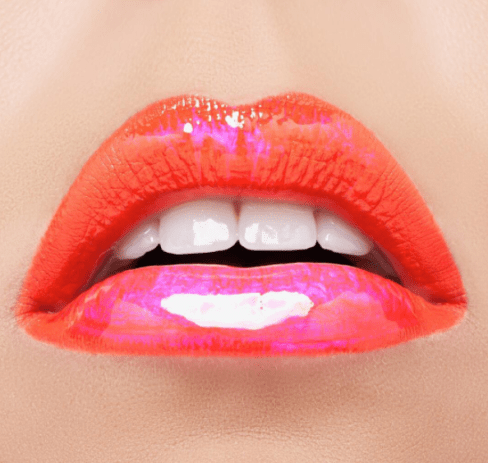 30 Holographic Lips Ideas 18