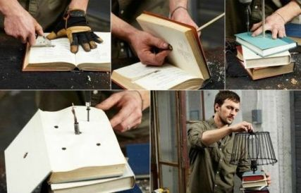 30 How to Reuse Old Book Ideas 4