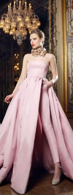 30 Soft Color Look Bridal Dresses Ideas 17